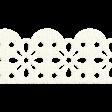 Apple Crisp - White Scallop Border