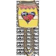 Apple Crisp - Jar Doodle Clip