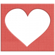 Apple Crisp - Heart Cutout