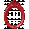 Apple Crisp - Red Plastic Frame