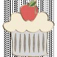 Apple Crisp - Cupcake Doodle 01