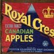 Apple Crisp - Apple Crate Label Paper