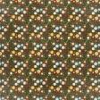 Apple Crisp - Brown Floral Paper