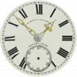 Elegant Autumn - Clock