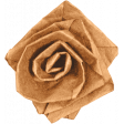 Day of Thanks - Brown Paper Flower