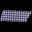 Apple Crisp - Dark Blue Gingham Washi Tape