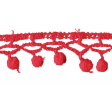 Day of Thanks - Red Crochet Lace
