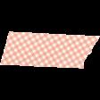 Apple Crisp - Light Pink Gingham Washi Tape