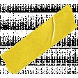 Apple Crisp - Yellow Washi Tape