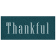 Day of Thanks - Thankful Word Art