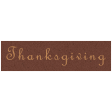 Day of Thanks - Thanksgiving Word Art