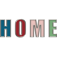 Home for the Holidays Doodle Kit 2 - Home Word Art Doodle