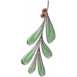 Home for the Holidays Doodle Kit 2 - Mistletoe Doodle