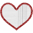 Treasured Mini - Glitter Heart