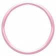 Toolbox Alphabet Bingo Chip Ring - Small Pink Plastic Ring