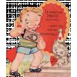 Toolbox Valentines Vintage Kit 2 - Valentine 10