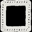 Fresh - White Crochet Frame