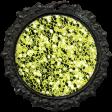 All the Princesses - Green Glitter Brad