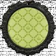 All the Princesses - Green Quatrefoil Brad
