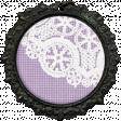All the Princesses - Purple Lace Brad
