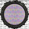 All the Princesses - Purple Ornamental Brad