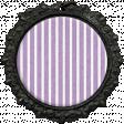 All the Princesses - Purple Striped Brad