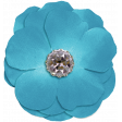 All the Princesses - Teal Flower 01