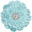 All the Princesses - Teal Flower 03