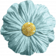 All the Princesses - Teal Flower 04