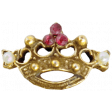All the Princesses - Crown Charm 01
