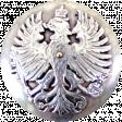 All the Princesses - Silver Button
