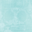 All The Princesses - Teal Stamped Paper