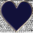 Apple Crisp - Enamel Heart Charm 04