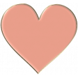 Apple Crisp - Enamel Heart Charm 06