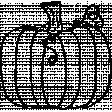 Fruit Doodle Template 003