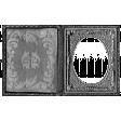 Metal Frame Template 012