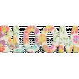 Garden Party - Bloom Word Art