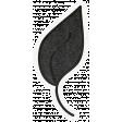 Chills & Thrills - Black Leaf Doodle