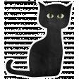 Chills & Thrills - Cat Doodle 1
