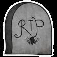 Chills & Thrills - Grave Stone Doodle