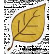 Chills & Thrills - Yellow Leaf Doodle