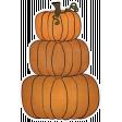 Chills & Thrills - Pumpkin Stack Doodle