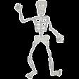 Chills & Thrills - Skeleton Doodle
