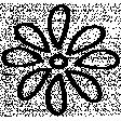 Flower Doodle Template 013