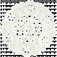 The Nutcracker - White Doily