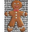 Nutcracker Doodle - Gingerbread Man