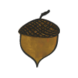 Woodland Winter - Acorn Doodle Tiny