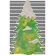 Woodland Winter - Tree Doodle 3