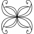 Insect Doodle Template 004
