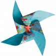 Look, A Book! - Blue Pinwheel 2